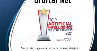 オービタルネット、海外ビジネス誌CIO Advisor APACが選ぶ「Top 10 Artificial Intelligence Solution Companies 2021」に選出